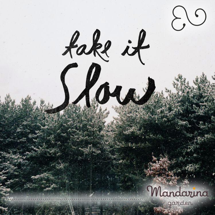 Slow life Mandarina garden