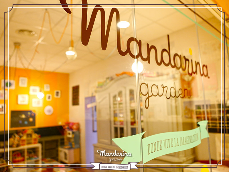 Taller arte en Mandarina garden