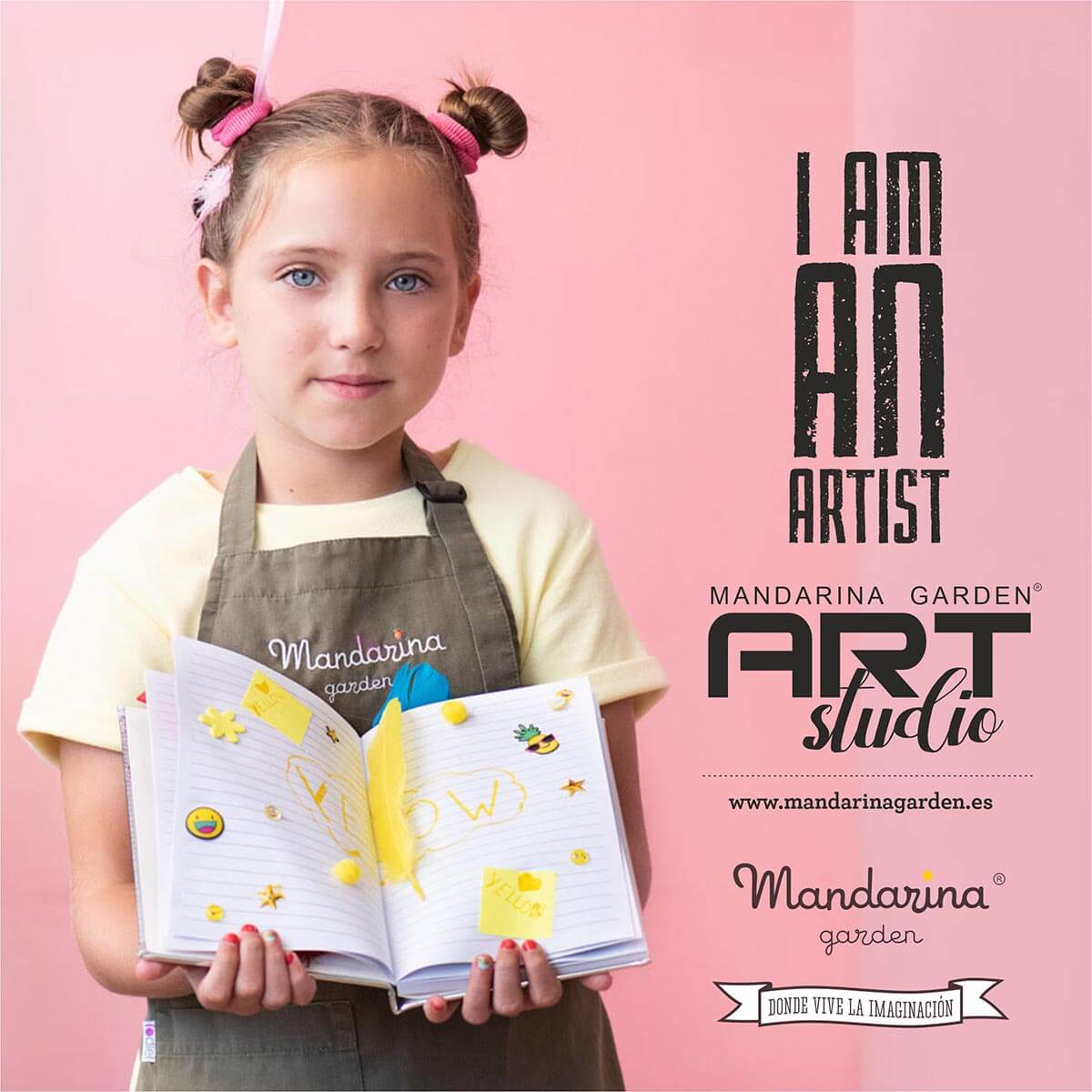 Art Studio for children from 3 years old every afternoon with activities, artistic workshops