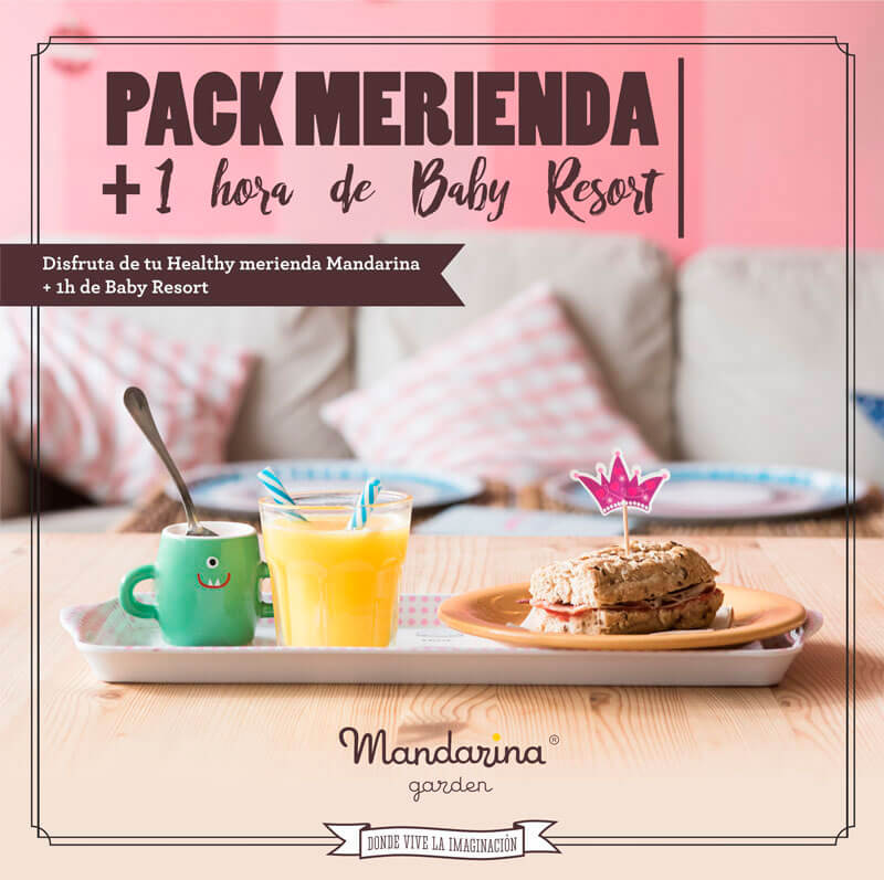 Special offer snack and free playtime pack at BabyResort