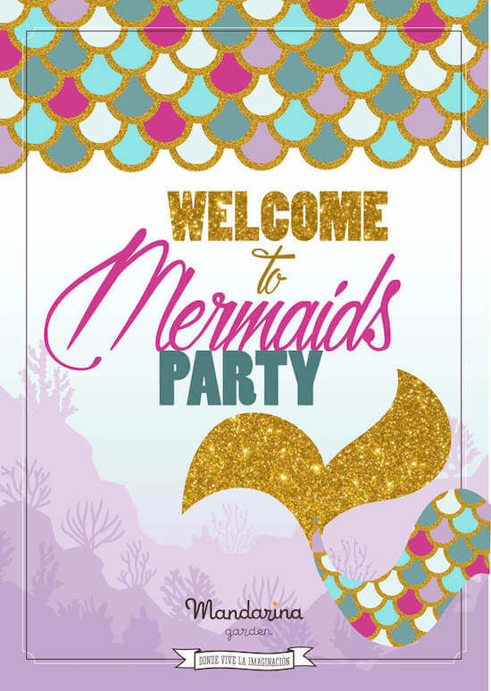 Mermaid birthday party, the most famous for this summer