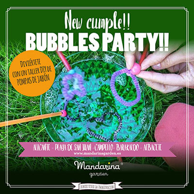 Cumpleaños Bubble party para adolescentes