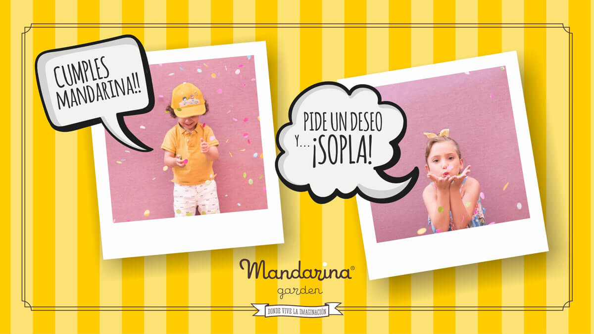 Click here to request information about your birthday at Mandarina garden
