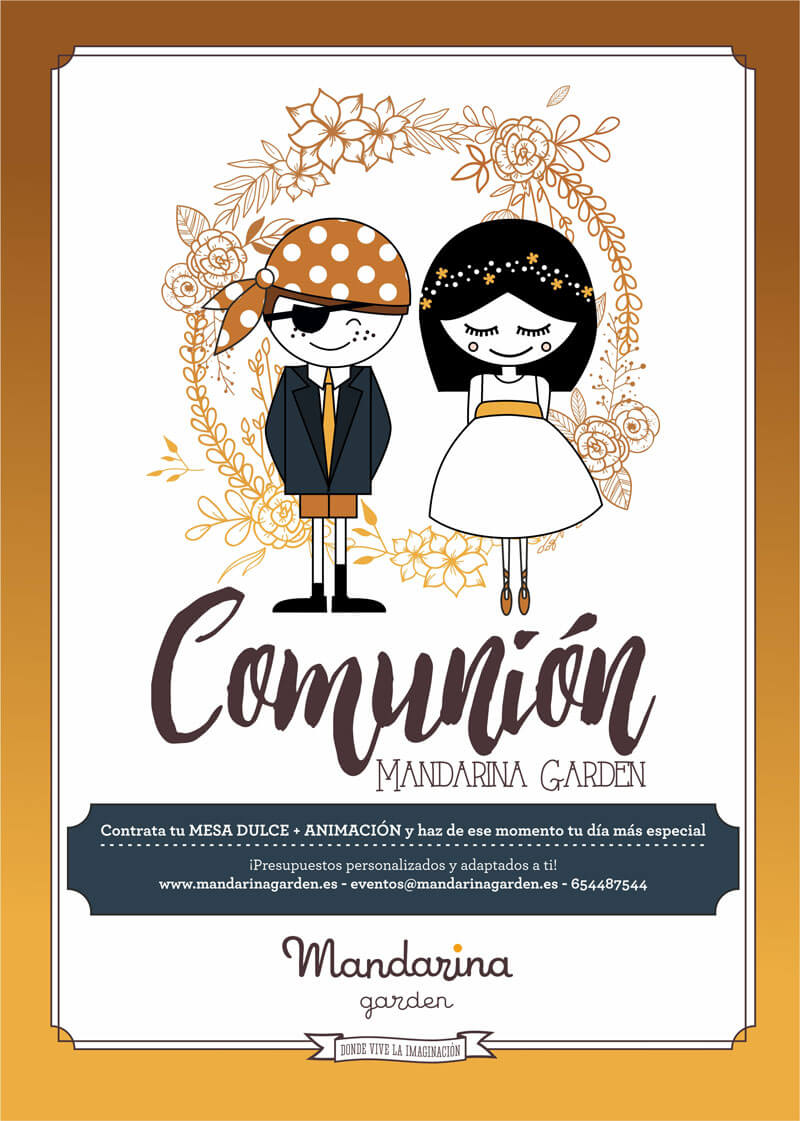 Mandarina garden Events, First communion