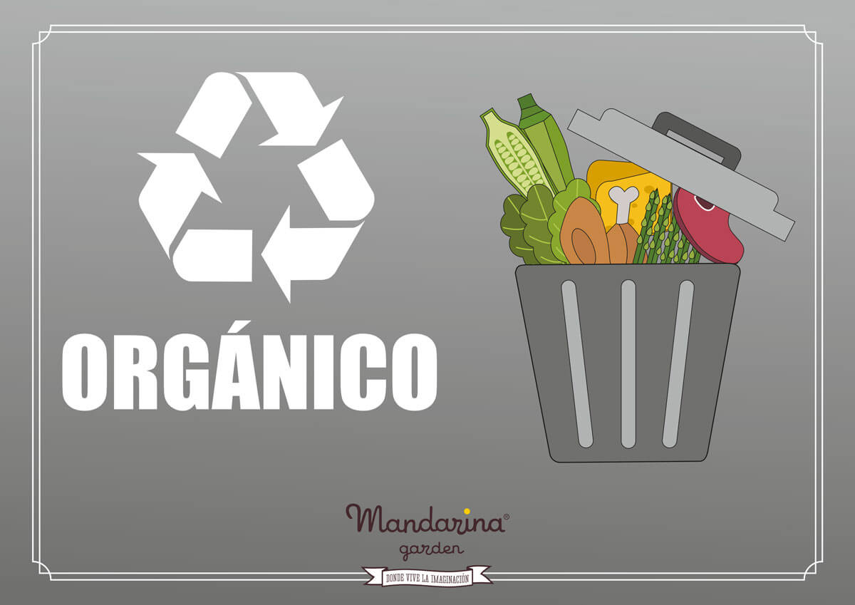 Poster to recycle organic garbage at home
