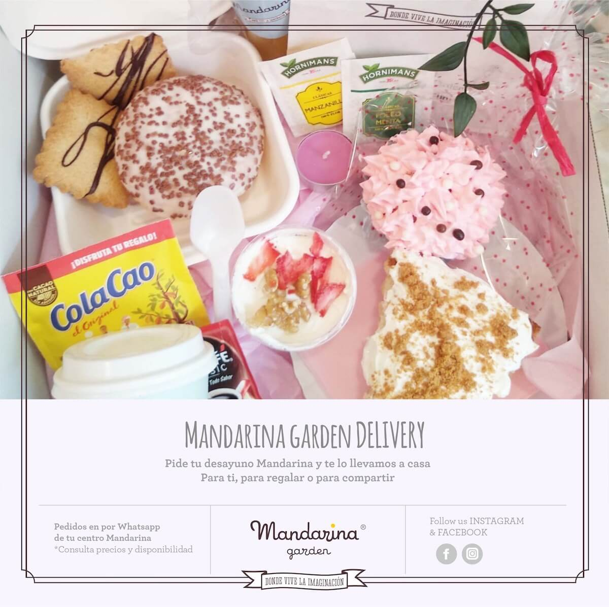 New breakfasts at Mandarina garden